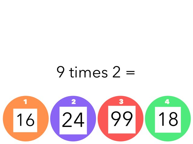 Multiplication  by Emily Rice