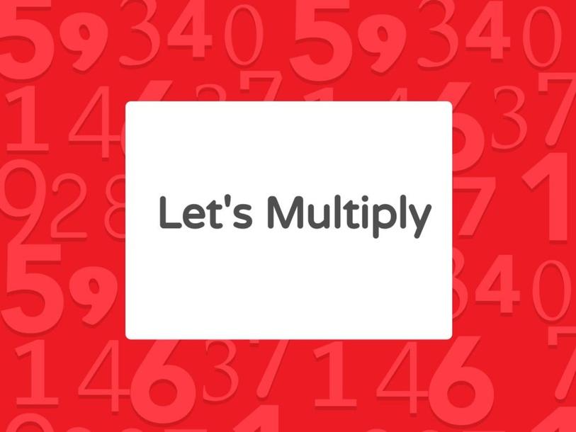 Multiplication by Pragya Joshi
