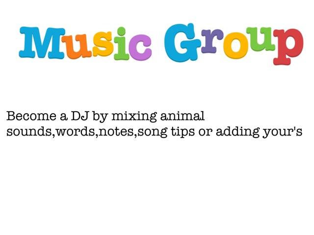 Music Group by Darius DC