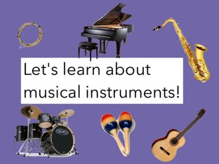 Musical Instruments by Julie Gittoes-Henry