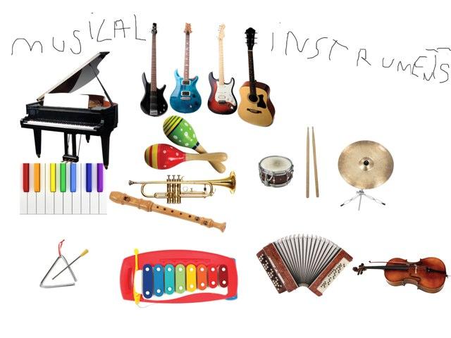Musical Instruments by Valeria Ferradas
