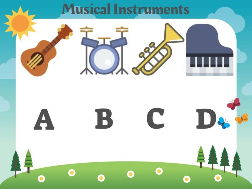 Musical Instruments by Teacher Jojo Cat