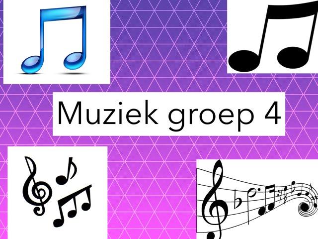Muziek Groep 4 by Wieke Jasper