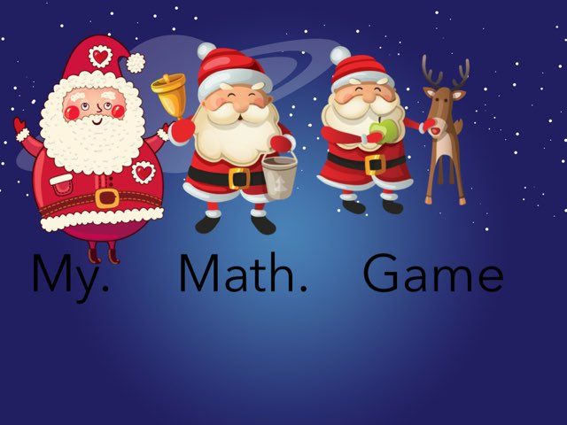 My.    Math.   Game by Courtney Lewis