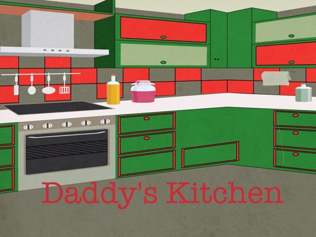 My Daddy's kitchen by Anna Robinson