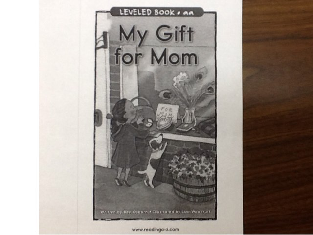 My Gift For Mom by Heather Higgins