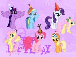 My Little Pony Birthday Gifts by Mohammad isha