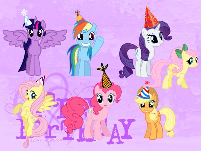 My Little Pony Birthday Gifts by Mohammad isha