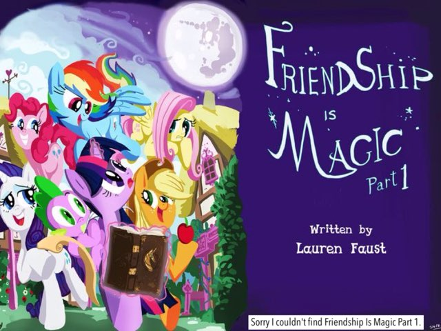 My Little Pony: Friendship Is Magic Season 1 by M2 Taylor