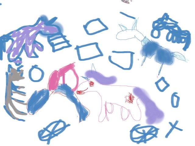 My Little Pony Messy Tail  by Cassady duhaime