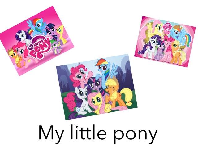 My Little Pony  by Jennifer Riu