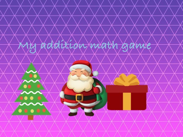 My Math  Addition  Game by Courtney Lewis