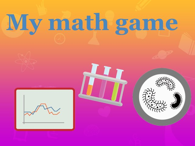 My Math Game by Courtney Lewis