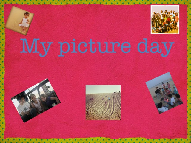 My Picture Day by Maya Roushdy