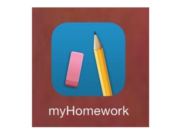 MyHomework app by Nancy Cook