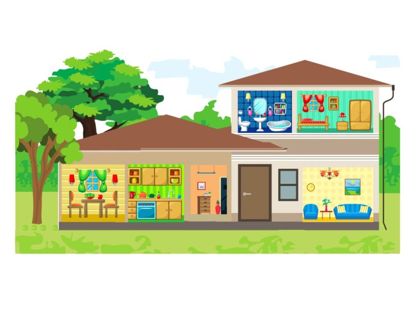 My House by Lauren Hamilton Saez