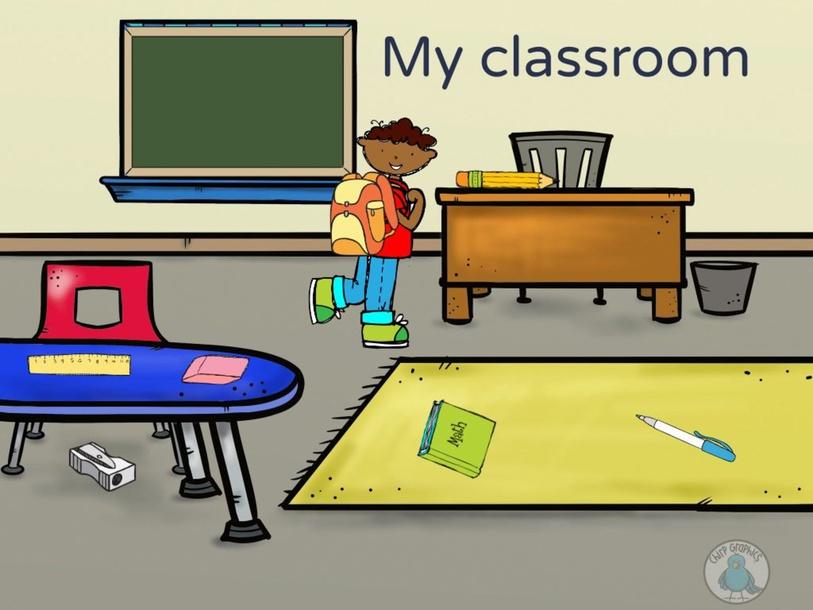 My classroom by Brigitte Guevara