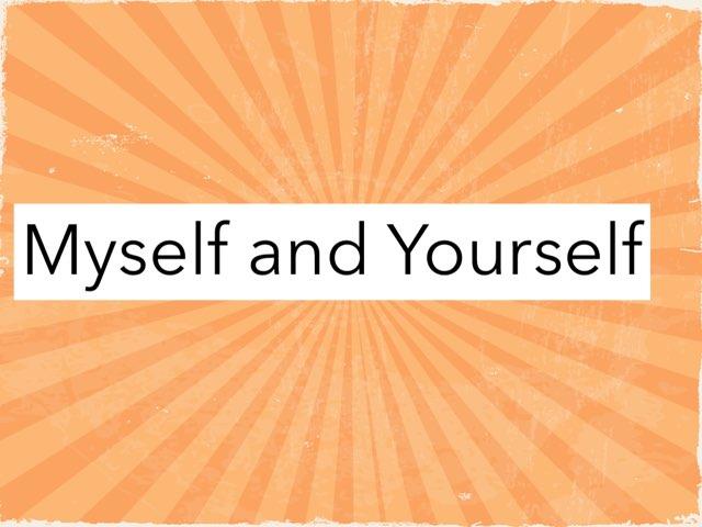 Myself and Yourself by Kathryn Essex-McIntyre