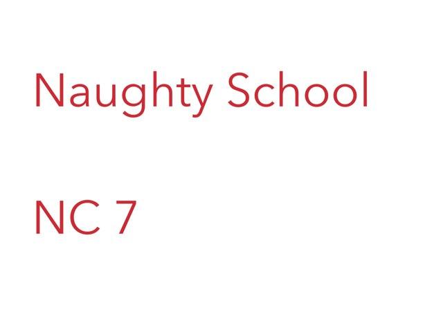 NC 7 - Naughty School by Jenny Lehman