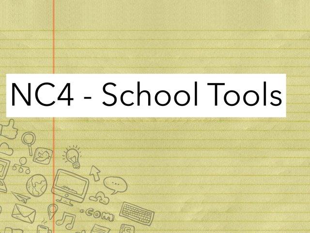 NC4 - School Tools by Jenny Lehman