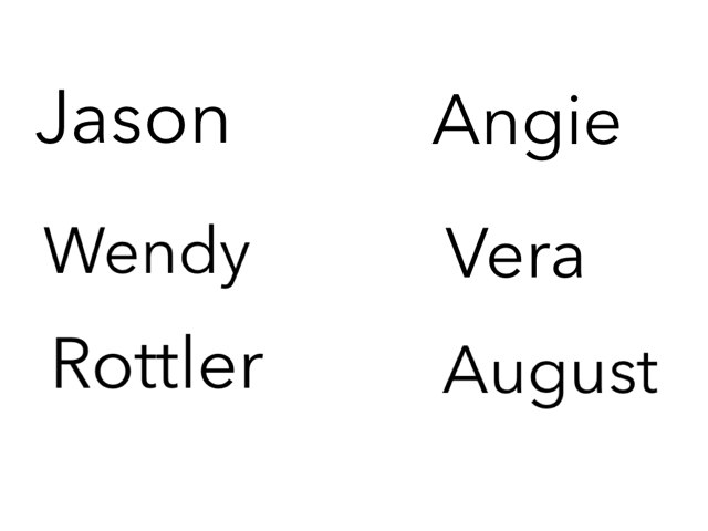 Name I'd by Wendy Hazelwonder