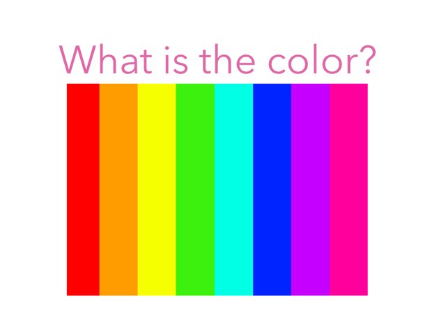 Name The Color by Stephanie Fretwell