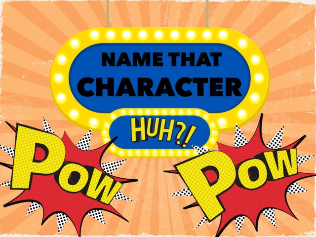 Name that CHARACTER by Harjodh Singh