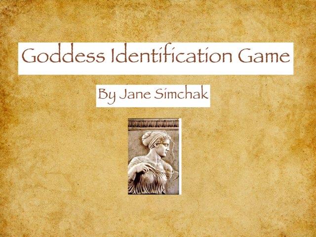 Name the Greek Goddesses by Jane Simchak