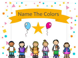 Name The Colours!!! by jenny lawson