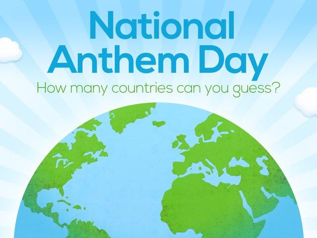 National Anthem Day by Nicole Hyman