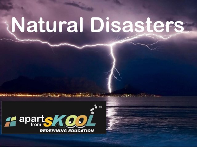Natural Disaster by TinyTap creator