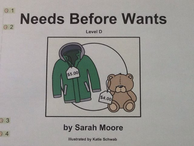 Needs Over Wants by Julie Gittoes-Henry