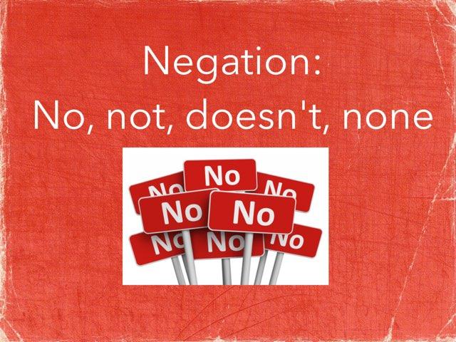 Negation by Erica Lynn