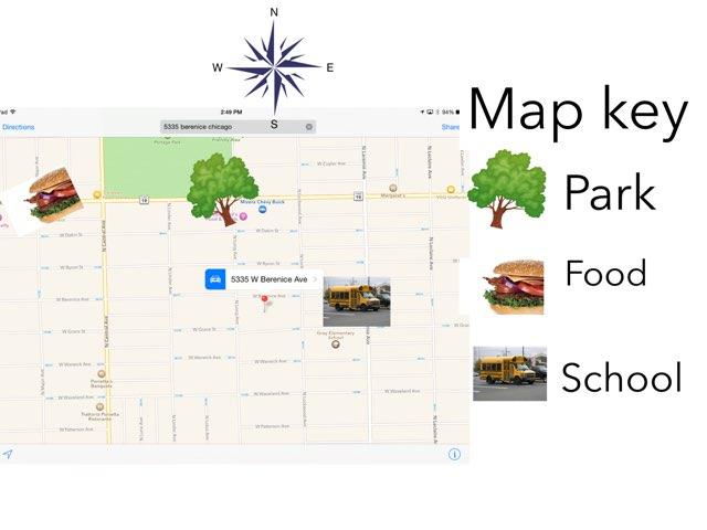 Neighborhood Map by Sarah LeMar