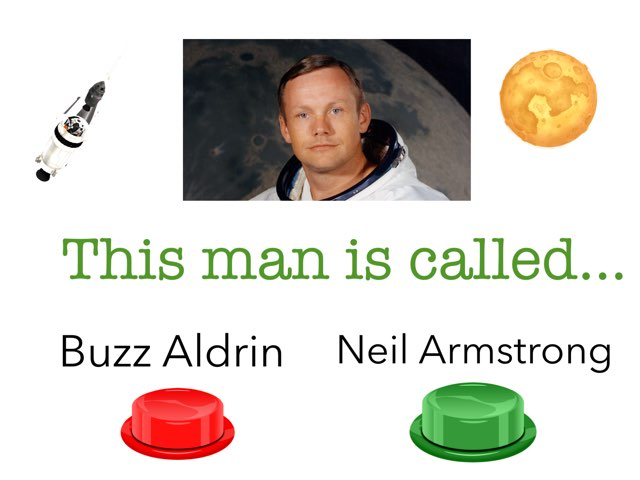 Neil Armstrong by Mrs Scott