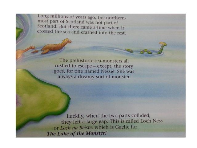 Nessie, The Loch Ness Monster by Teacher Santa