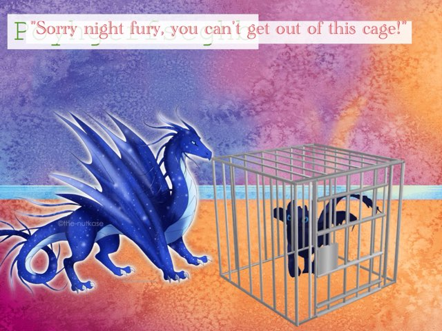 Night Furies Caught In Cages Pt 2 by M3 taylor
