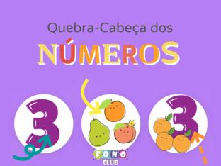 Números 0 a 9 by Ana Carolina Povoa