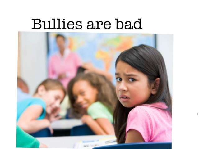 No Bullies by Salma Diab