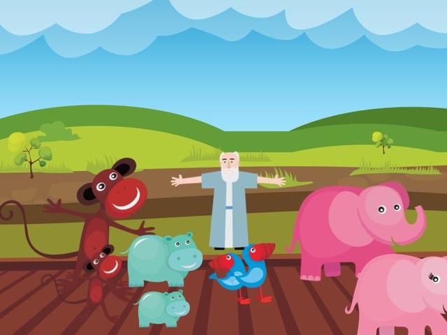 Noah's Ark For Yvie-Mae Wilcox by Nicci Wilcox