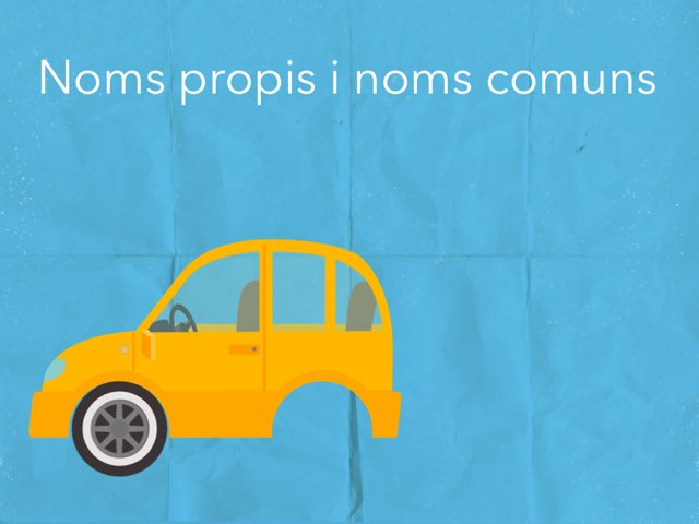 Noms Propis i Comuns by Silvia Soteras