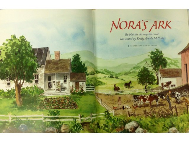 Nora's Ark Book by Carrie Nielsen