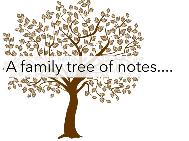 Note Family Tree by Dominique Schafer
