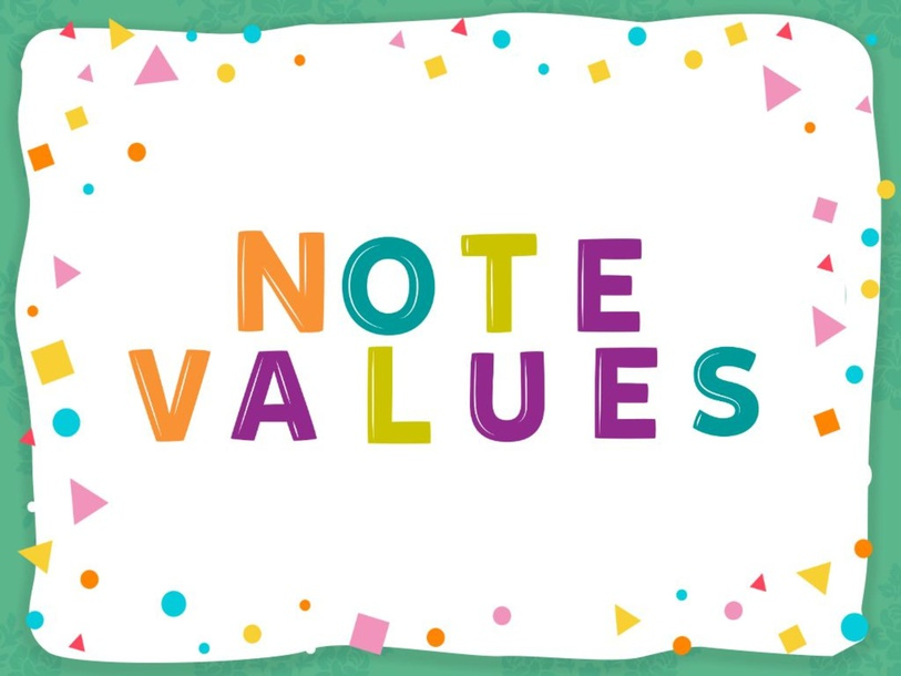Note Values by Meredith McCullough