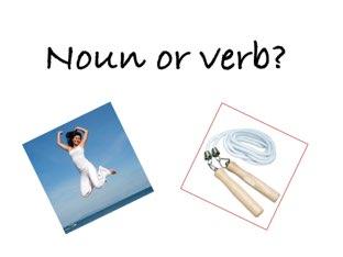 Noun Or Verb by Madonna Nilsen