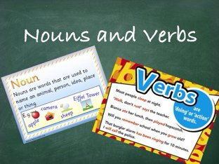 Nouns And Verbs by Vanessa Wei