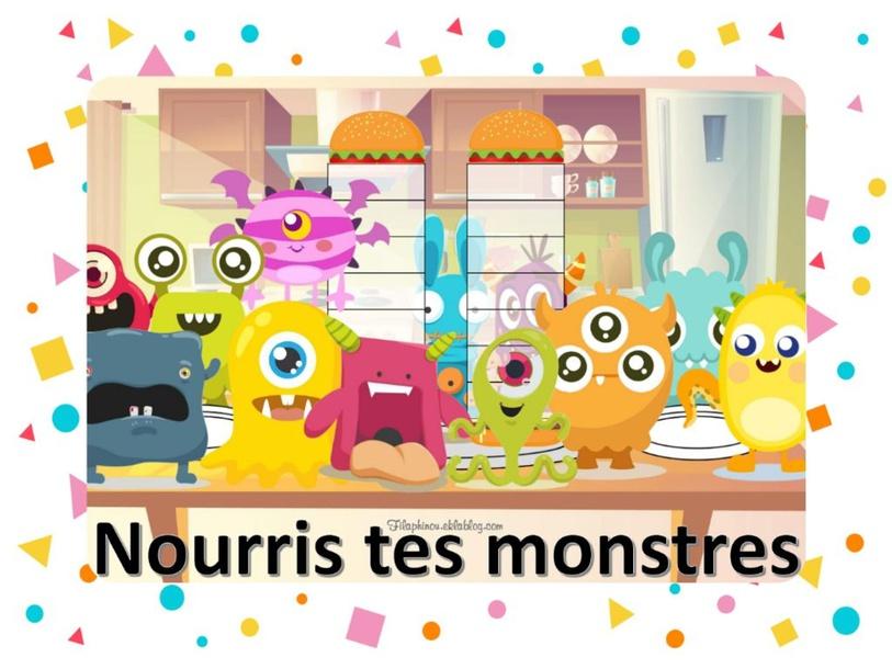 Nourris tes Monstres (confusion ou et on) by nadeirdre Benmbarek