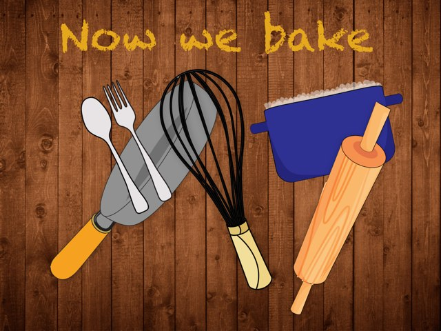 Now We Bake by Eja Harbeck