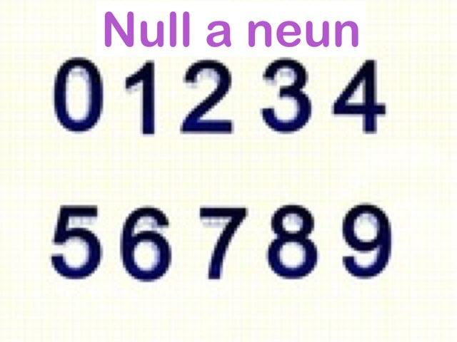 Null A Neun by Curiosidades Curiosas