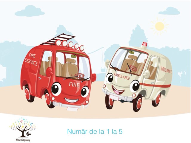 Numar de la 1 la 5 by Alina Bobarnac, BCBA